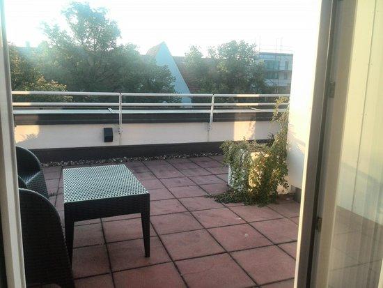 Derag Livinghotel Weissensee: terrace