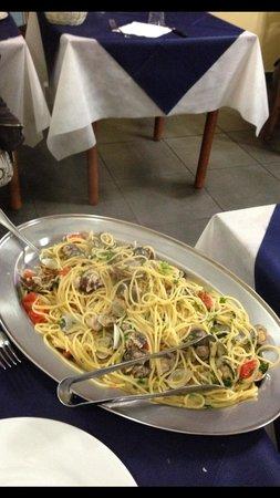 La Vecchia Cucina : Spaghetto con vongole