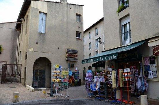 Mercure Pont d'Avignon Centre : ホテルのすぐ裏手