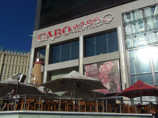 Cabo Wabo cantina on the Strip