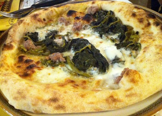 Pizzeria Mamma Rosa : Frijarelli e salsiccia