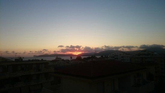 KaRol Casa Vacanze: sunset view from balcony