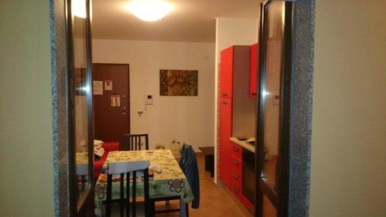 KaRol Casa Vacanze : kitchen view from balcony 4 am