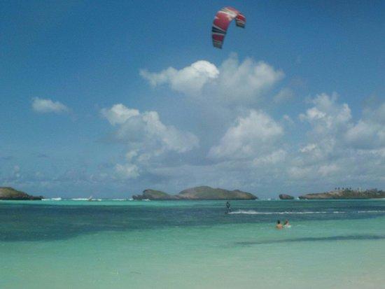Seven Islands Resort: isola dell'amore difronte al villaggio