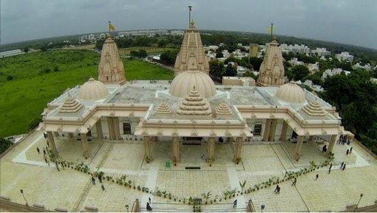 Gandhinagar, Inde : Dada Bhagwan Trimandir Adalaj (Top View)