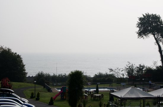 Langstone Cliff Hotel: view from our room