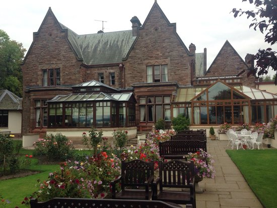 Appleby Manor Hotel & Garden Spa: View from the fabulous gardens