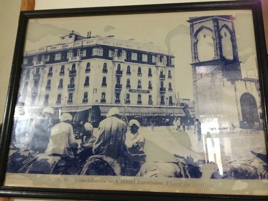 Kenzi Tower Hotel: A rare picture of the early days from the foyer of the Excelsior Hotel.