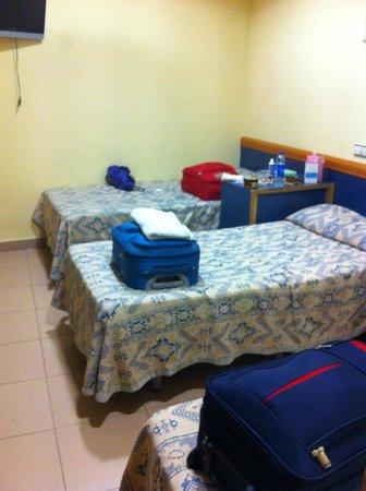 Roma Reial Hotel: La nostra stanza