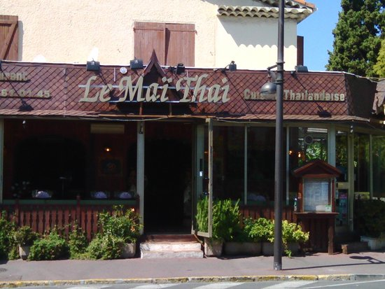 Restaurant Le Mai Thai : View from the street
