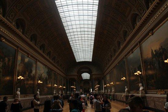 La Galerie des Batailles: Entering the Battles Gallery