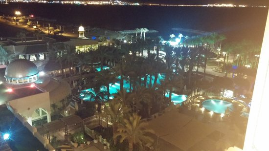 Herods Palace Hotel Eilat: גם בלילה היופי נראה