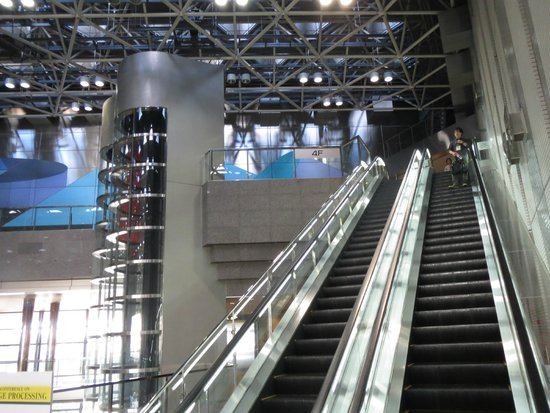 Comfortable access upstairs Picture of Nagoya Congress Center