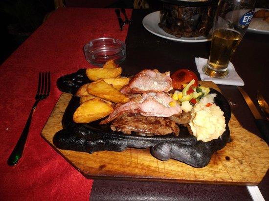 Family Door: steak meal