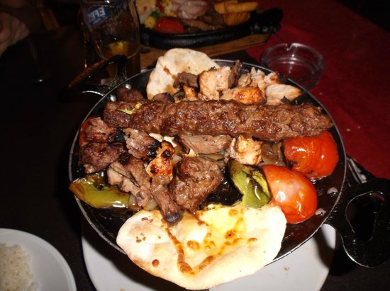 Family Door: mixed kebab
