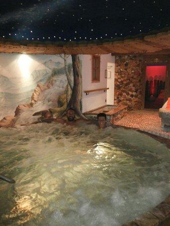 Croce Bianca Leisure & Spa Hotel : Idromassaggio favoloso