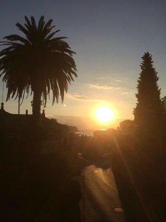 Hotel Belvedere: sunrise/l'alba