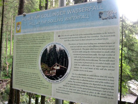 Gollinger Wasserfall : Gollinger waserfall