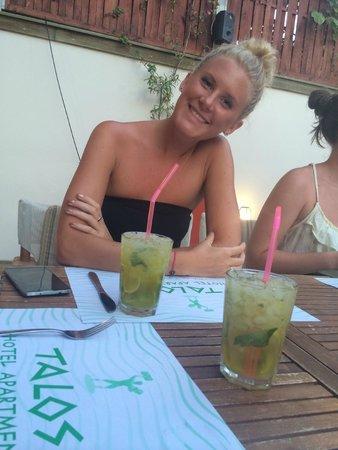 Talos Restaurant: Goda drinkar