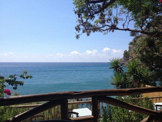 Lendas, Greece: Taverna El Greco: Sea-view dining
