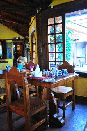 Hotel Casa de Hacienda La Jimenita: Dining room