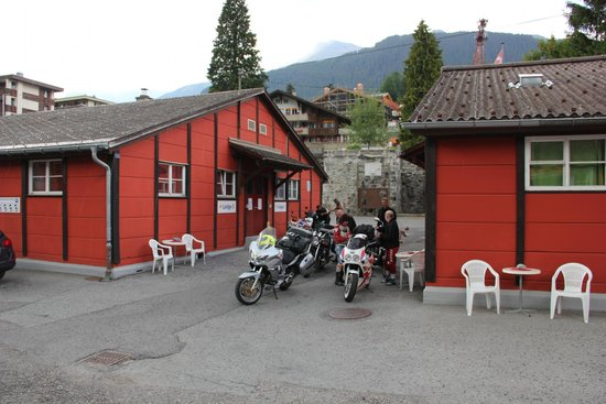 Downtown Lodge: Aussenbereich