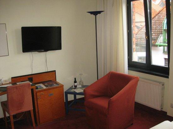 Hotel zum Ritter: Mit Flachbildfernseher