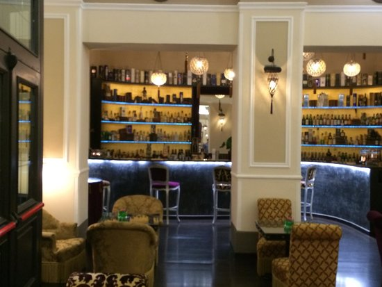 Bernini Palace Hotel : Lobby bar
