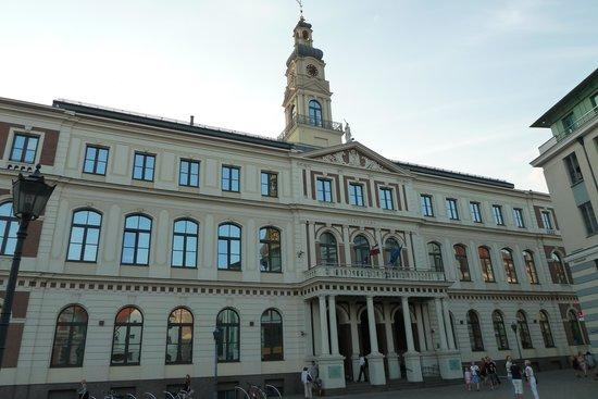 Riga Town Hall Square: Rathaus