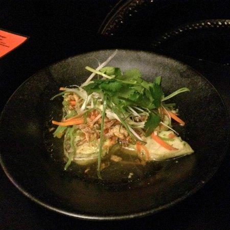 Red Lantern: Steam fish in oyster sauce