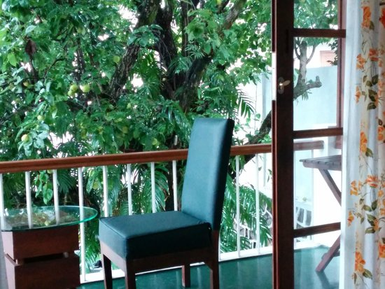 The Pear Tree : View from the room and lovely balcony