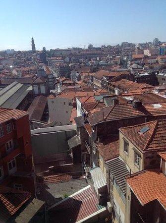 Quality Inn Porto: view from my window