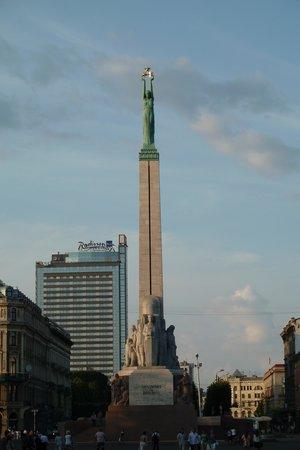 Freedom Monument (Brivibas Piemineklis) : Orientierungspunkt