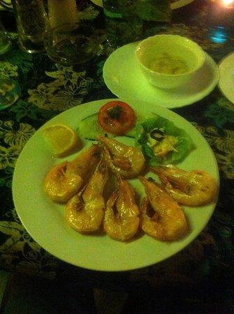 Mangoes: King prawn for low buget