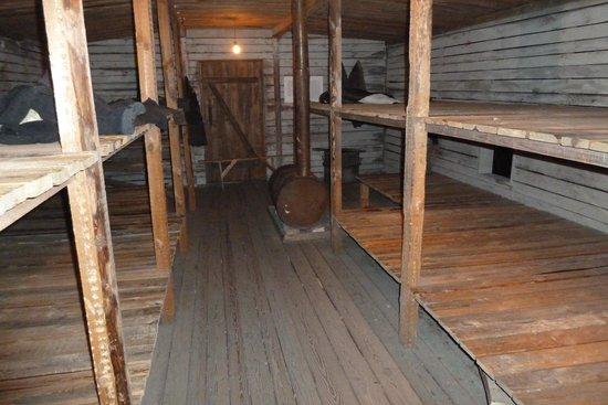 The Museum of the Occupation of Latvia: Nachgebildete Gefangenenbaracke