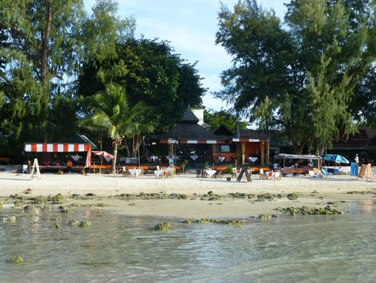 Samui Honey Cottages Beach Resort: View from the beach