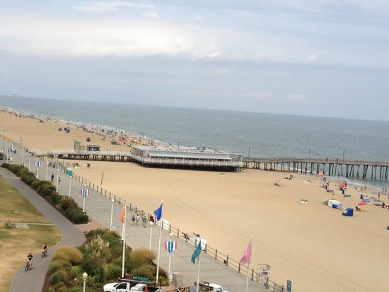 Four Points by Sheraton Virginia Beach Oceanfront: View from the balcony