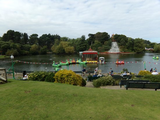 Peasholm Park: Gorgeous view of the park