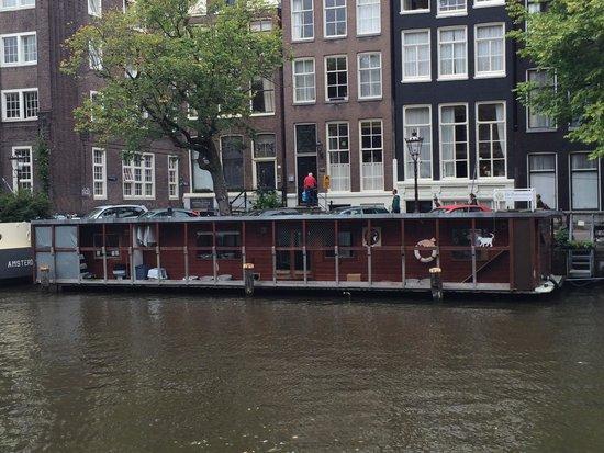Singel Hotel Amsterdam : Dall'altra parte del canale
