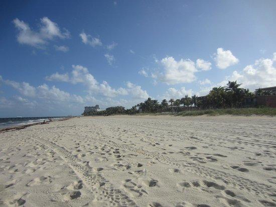 Beachside Village Resort : Beach across the street