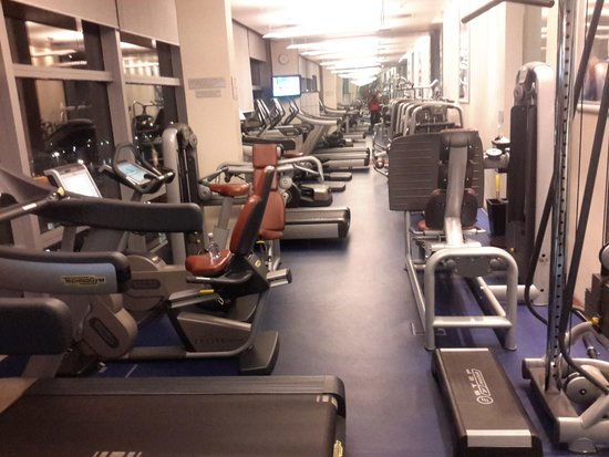 The Westin Cape Town: Gym on the 18th floor