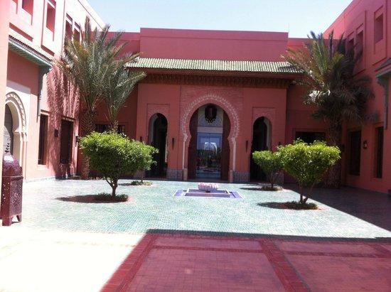 entr e picture of hotel les jardins de l 39 agdal marrakech tripadvisor. Black Bedroom Furniture Sets. Home Design Ideas