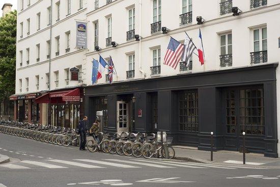 Mercure Paris Notre Dame Saint Germain des Pres: Fachada do hotel
