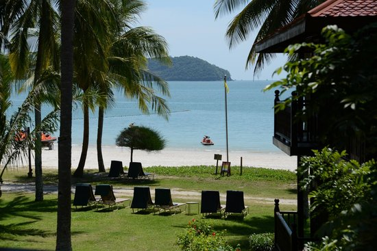 Meritus Pelangi Beach Resort & Spa, Langkawi: Upgrade後の部屋からの眺望