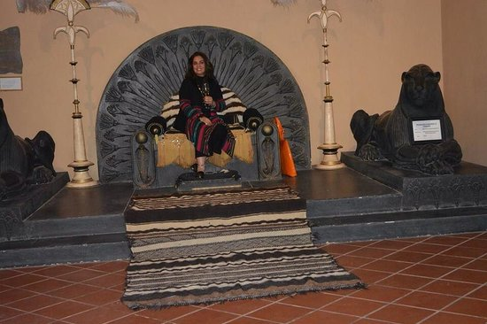 Hotel Le Berbere Palace : Berbere Queen for a day.