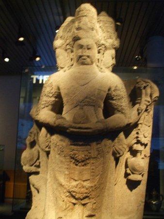 Museum Volkenkunde: Statua della sezione asiatica