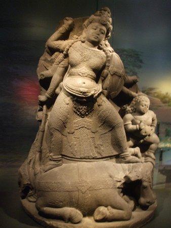 Museum Volkenkunde: Una delle statue in esposizione
