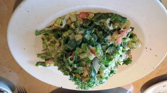 The Cheesecake Factory: Chopped salad with chicken.