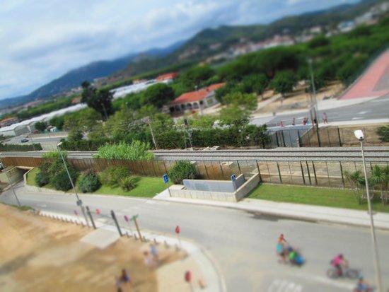 Hotel Caprici: widok z balkonu