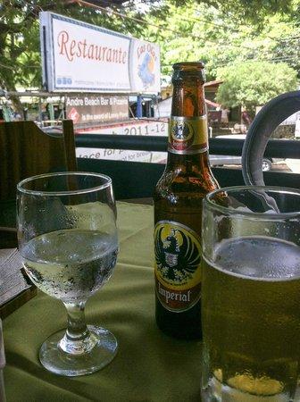 Restaurante Las Olas: At the table